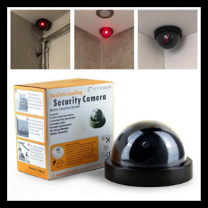 Realistic Looking Home Security Camera No Wiring