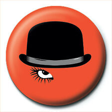 A Clockwork Orange Bowler Hat Eye 25mm Button Badge Pin Film Movie Collectable
