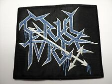 CRUEL FORCE LOGO  EMBROIDERED PATCH