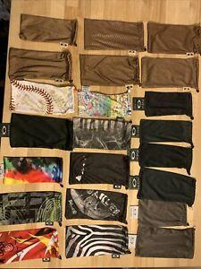Oakley Sunglass MicroFiber Bag Pouch Lot 22 Batwolf Black Brown Grey Collection
