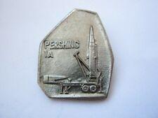 Rare USA USSR Nuclear Missiles Disarmament Treaty soviet pin badge Pershing 1A