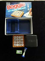 Boggle (The 3 Minute Word Game, 1992 Parker Games) Complete in Box VGC