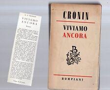 cronin - viviamo ancora - sottocosto 4 euro - seprquarts