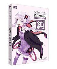 AHS Yuzuki Yukari Jun Natural VOCALOID4 DVD Software JAPAN NEW FREE EMS