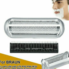 Shaver Foil Head Cutter Replacement For Braun 5s P40 P50 P60 M30 M60 M60s M90