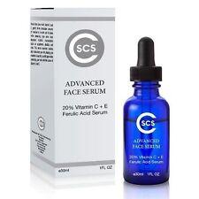 20% Vitamin C + E Ferulic Acid Face Serum - Combats The Signs Of Aging 1 oz