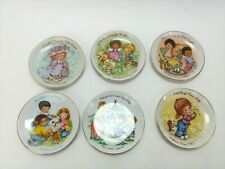 Vintage Cherished Moments Mothers Day Plate Avon Collector Plate 5'' 6 pcs set
