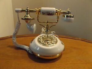 French style , Porcelain Telephone , Assembly ready to use