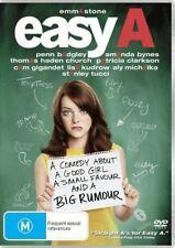 Easy A (DVD, 2011) comedy Emma Stone, Amanda Bynes, Lisa Kudrow, Stanley Tucci