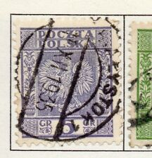 Poland 1929-38 Early Issue Fine Used 5g. 190905