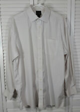 Jos A Bank Travelers Collection Mens L/Sleeve Spread Collar Dress Shirt 16½ 34