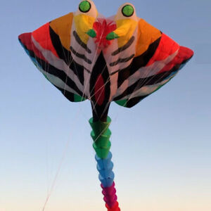 15m Large Devil fish Kite Software Kite Outdoor Toy Oversized Kite Ripstop Nylon