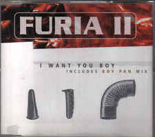 Furia 2 -I Want You Boy cd maxi single