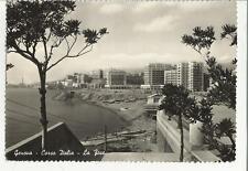 vecchia cartolina di genova corso italia la foce 77696