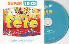 CD CARTONNE CARDSLEEVE FETE DANCEFLOOR 15T SOLVEIG/SINCLAR/ALVARO/SANCHEZ/BLASKA