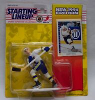 ST. LOUIS BLUES BRETT HULL NHL HOCKEY STARTING LINEUP Action Figure Toy 1994 NEW