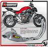 Akrapovic S-Y7R1-HAFT - Yamaha FZ-07 / MT-07 14> Full Exhaust System Titanium