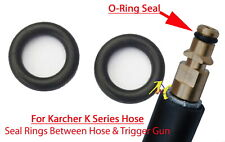 KARCHER Pressure Washer Quick Release Hose Male End O-Ring Rubber Seals (2 Seals