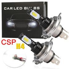 2x 160W H4 HB2 CSP LED Nebelscheinwerfer Birne Lampen DRL 26000LM 12V 6000K Weiß