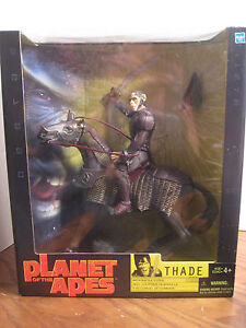 Planet of the Apes - Thade Action Figure w/ Horse - Hasbro 2001