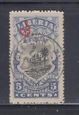 Liberia # O100 USED SON Freeport Sierra Leone Cancel Ship