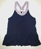 Matilda Jane 435 Hello Lovely Brighten Up marina blue knit tank top shirt tee 12
