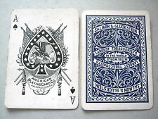 SALMON GLUCKSTEIN TOBACCO 1920s AMERICAN CARD CO KALAMAZOO PLAYING CARDS VINTAGE