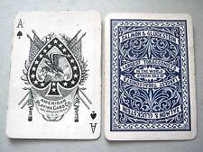 SALMON GLUCKSTEIN TOBACCO 1920s AMERICAN CARD CO KALAMAZOO PLAYING CARDS VINTAGE