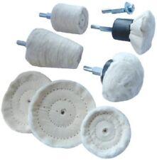 Toolpak 8 Piece Polishing Buffing Mop & Wheel Drill Head Set (90.989)