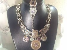 Parure Collier Bracelet Fantaisie Marque Les Gens Du Sud Jolie Rare Vintage Deco