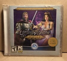 Ultima Online Gold (Jewel Case) - Pc Game Cd-Rom With Booklet *