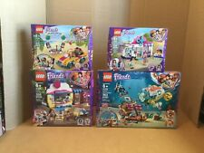 4 SETS LEGO FRIENDS 41378 DOLPHINS RESCUE MISSION, 41391, 41366, 41390 NIB
