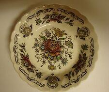 """Vintage Myotts Bouquet Floral Fruit Dessert Bowl Staffordshire England 4 5/8"""""""