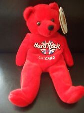HRC Hard Rock Cafe Chicago Rita Bear Beara Bär Teddy Herrington XL Fotos