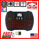 Mini Wireless Keyboard Remote Touchpad 2.4GHz Smart-TV Android TV Box PC BACKLIT