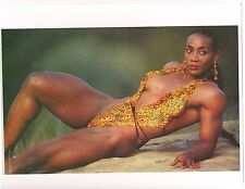 Ms Olympia Lenda Murray Female Bodybuilding Muscle Color Photo