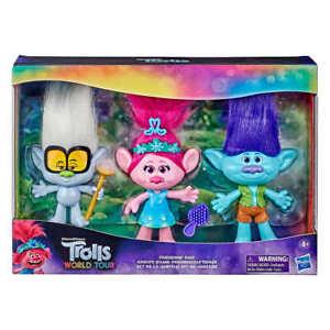 Trolls World Tour - Friendship Pack 3 Piece Doll Set