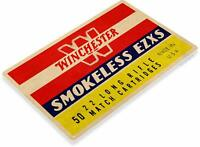 Winchester Smokeless Shells Retro Tin Metal Sign