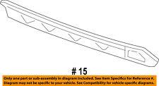 Dodge CHRYSLER OEM 12-14 Charger Rear Bumper-Rear Valance 68071985AA