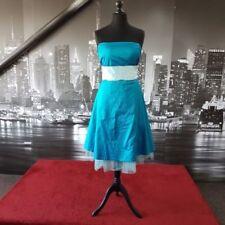 Ropa, calzado y complementos de dama de honor sin marca color principal azul de poliéster
