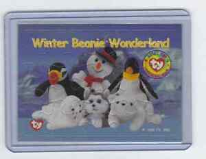 1998 Ty Beanie Babies Series 1 - Puzzles #WBW -Winter Beanie Wonderland
