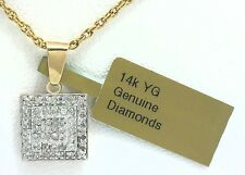 GENUINE 0.70 Cts DIAMONDS PENDANT 14K GOLD ** New With Tag & FREE Appraisal **