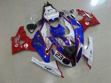 For BMW 2009-2014 S1000RR HP4 Fairings Bodywork Kit ABS Plastic Blue Red White