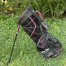 New listing SUN MOUNTAIN 3.5 Women's Golf Bag Carry Stand Black Pink White