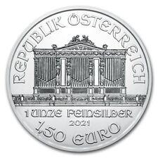 AUTRICHE 1,5 Euro Argent 1 Once Philarmoniker 2021