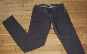 G- STAR Jeans pour Femme W 27 - L 32 Taille Fr 36 MICRO MIDGE SKINNY (Réf #O074)