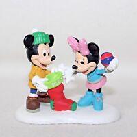 "Brand New Dept 56 & Disney Mickey's Merry Village ""CHRISTMAS TREATS FOR PLUTO"""