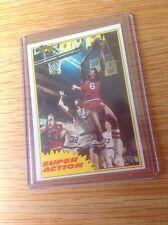 Julius Erving 1982 TOPPS DR J BASKET NBA Trading Card