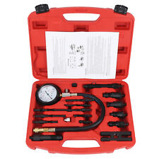 17 PCS Diesel Engine Compression Tester Kit Tool Set Automotive Compressor UK