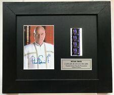 More details for star trek picard repro signed patrick stewart original filmcell memorabilia